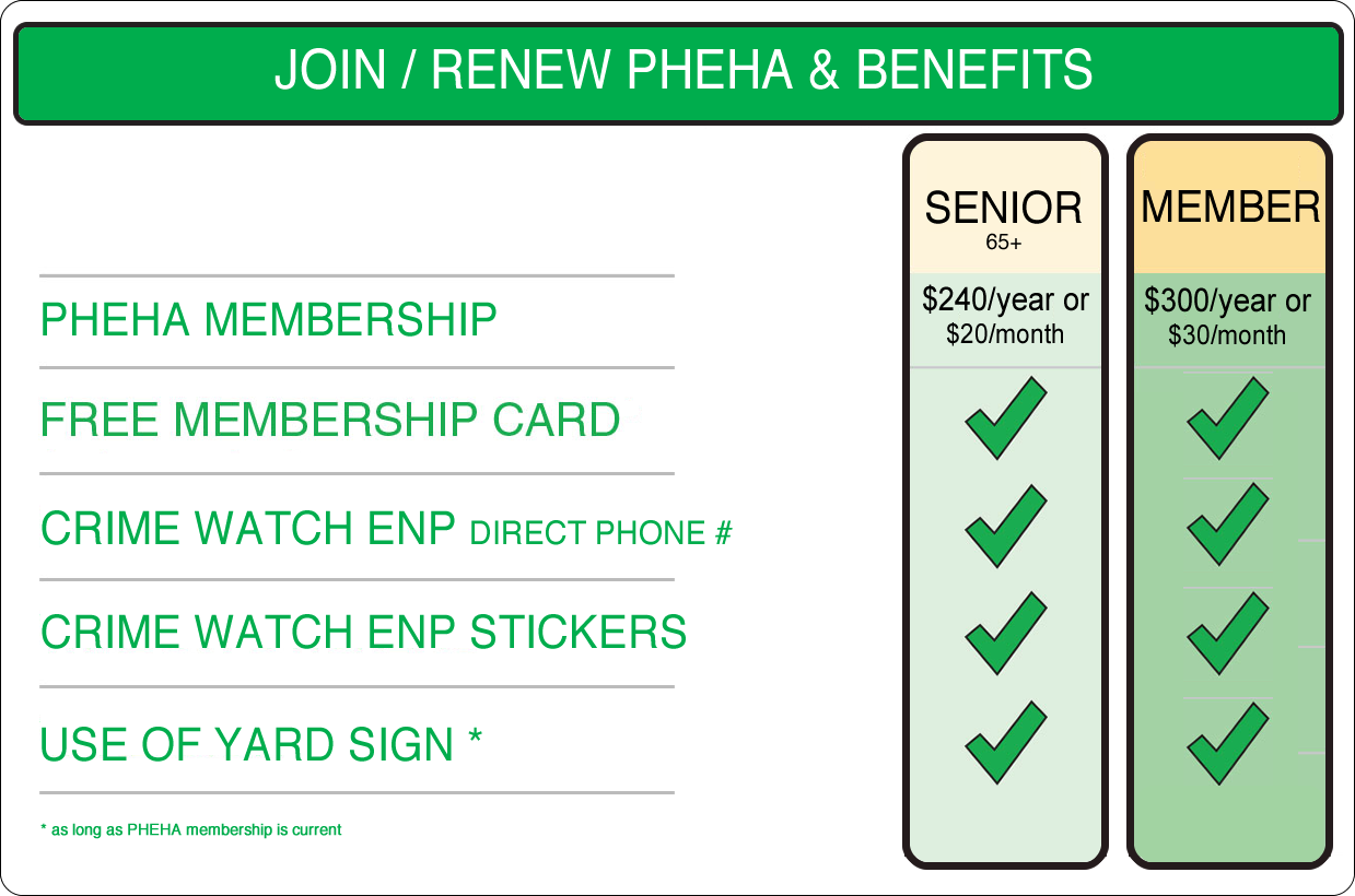 PHEHA - Pay Membership